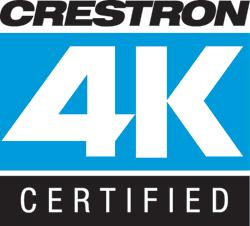 Crestron to Bring 4K Confidence to Integrators and  End Users with new Certification Program