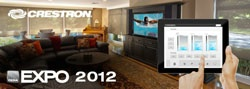 Crestron Demonstrates Tomorrow's Technology Today  Live at CEDIA EXPO 2012