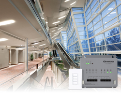 Crestron Introduces New In-Wall and Centralized 0 – 10V Control for LED lighting