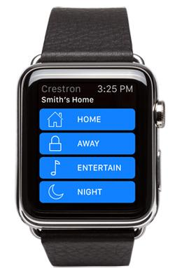 The Crestron App for iPhone® Now Supports Apple Watch™