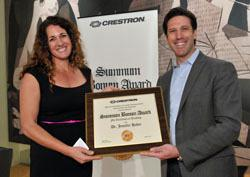 Crestron Honors St. Petersburg College Professor with  Summum Bonum Award for Excellence in Teaching