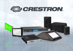 Crestron Showcases Simple, Scalable, Secure Enterprise Room Solutions at InfoComm 2017