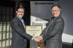 Crestron Honors Montclair State University Teacher with Summum Bonum Award for Excellence in Teaching