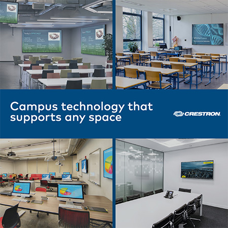 """Crestron Features """"Install, Configure, Learn"""" Theme at EDUCAUSE® Annual Conference 2018"""