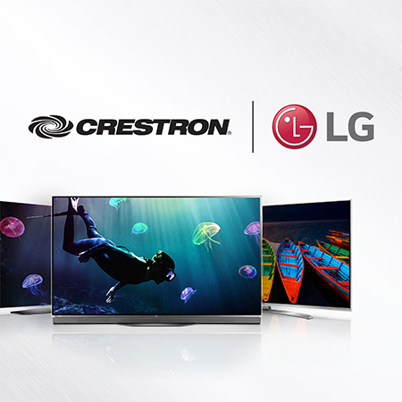 Crestron Selects LG Electronics as Launch Partner for Video Integration with its Crestron Pyng® Residential Platform