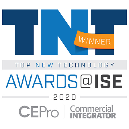 2020 Top New Technology Commercial Integrator Awards