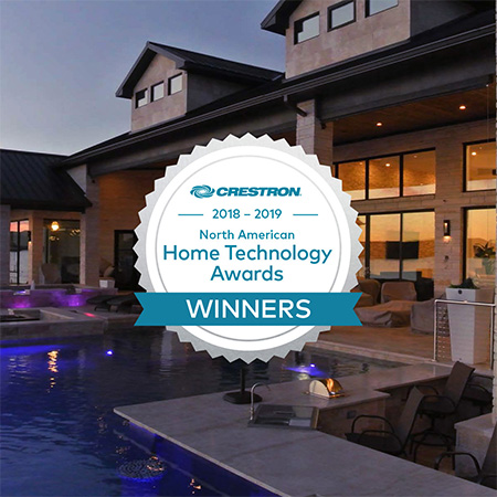 Crestron Announces Winners of 2018 Global Home Technology Awards for North American Region