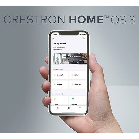 Crestron Home OS 3 Now Live; Delivers Smart Home User Experience Like No Other