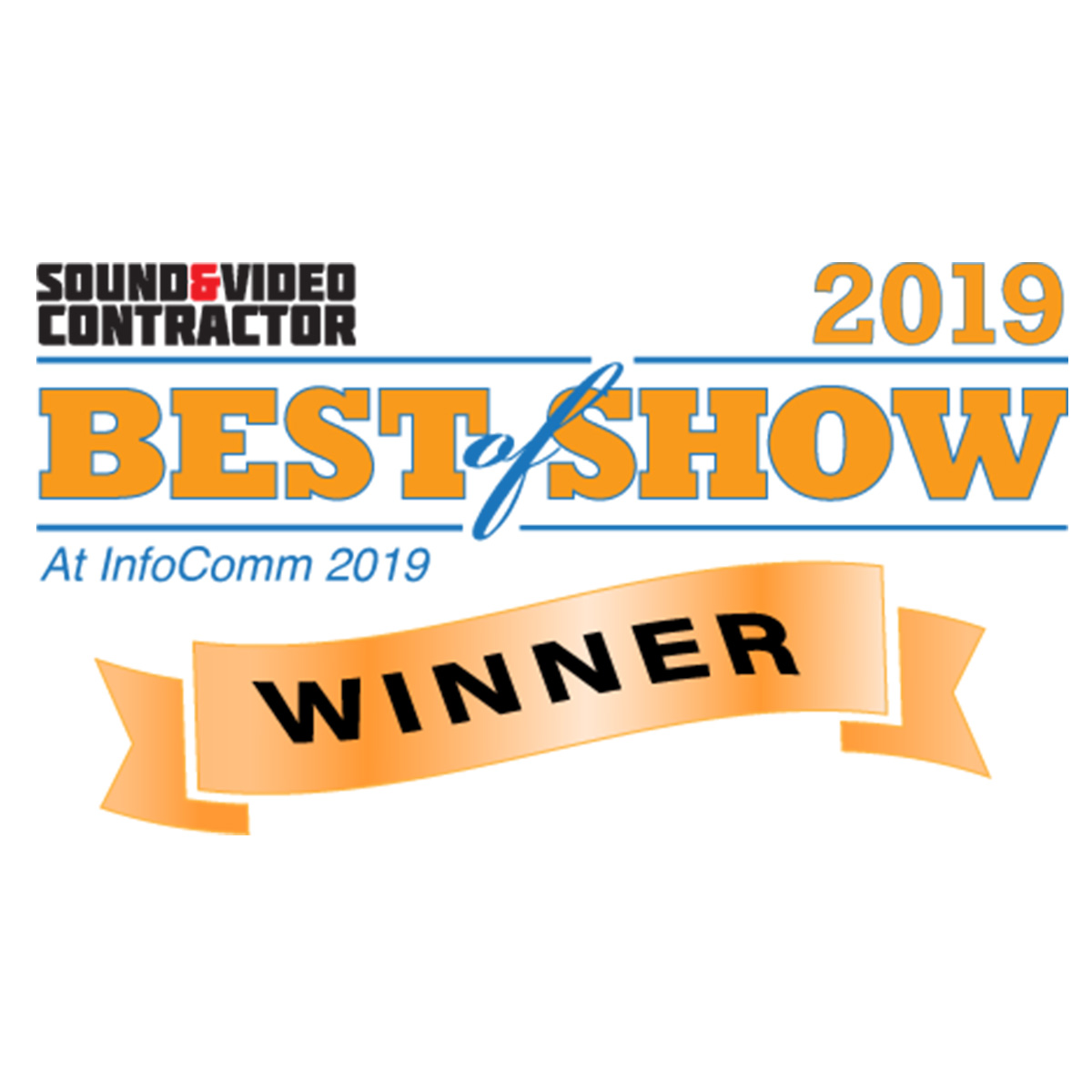 "Sound & Video Contractor ""Best of Show"""