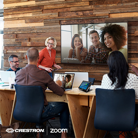 Crestron Extends Collaboration with Zoom to Deliver a Full-Suite of Enterprise Solutions