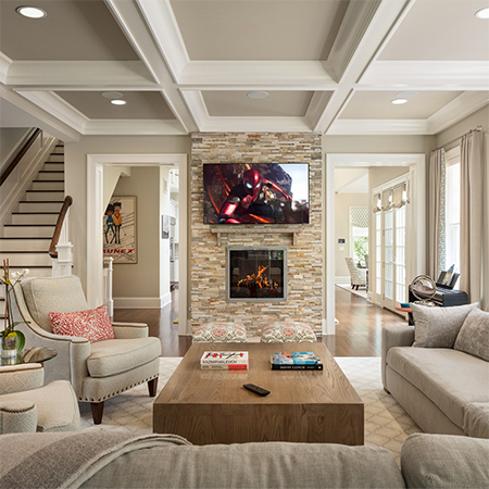 Crestron Control in NYC Home Recreated for Second Home in Suburbs