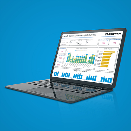 Crestron Fusion® Software Now Supports Interactive Dashboard Functionality and Data Visualization