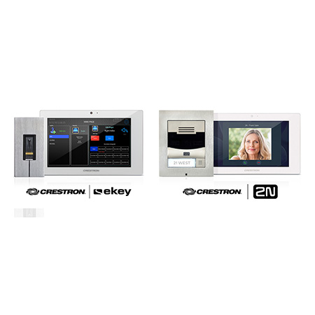 Crestron Enhances Entry Door Security and Convenience with Two New Partnerships
