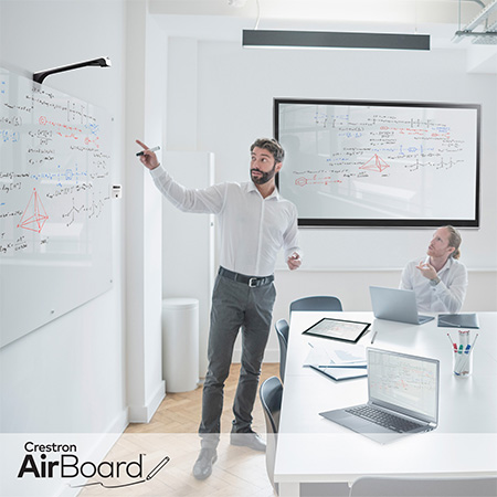 New Crestron AirBoard™ Enables Capture, Display, and Sharing of Whiteboard Content with Anyone, Anywhere