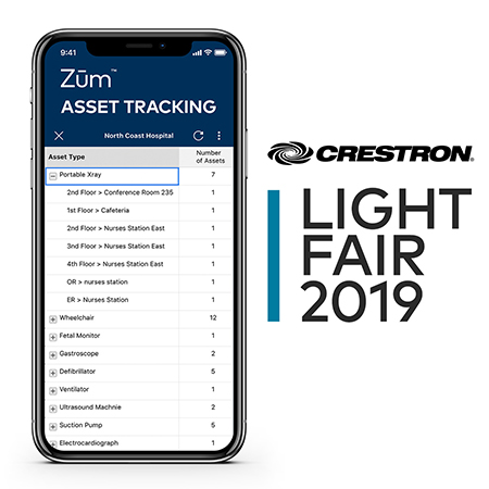 Crestron to Debut Major Enhancements to Zūm™ Lighting Control Platform at LightFair® International 2019
