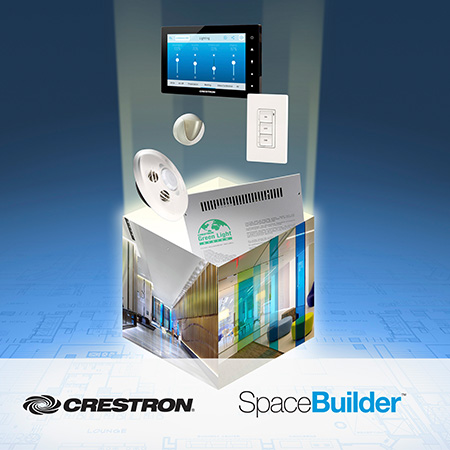 Crestron to Demonstrate New Release of SpaceBuilder™ Software at LightFair® International 2018