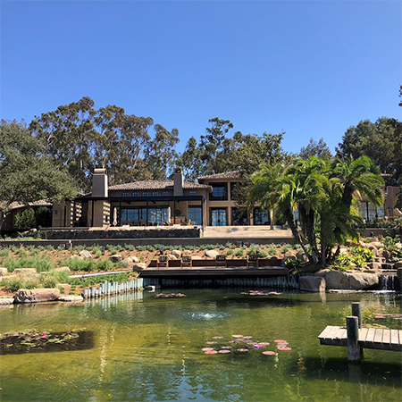 Complete Crestron Control Blends in Seamlessly in SoCal Estate