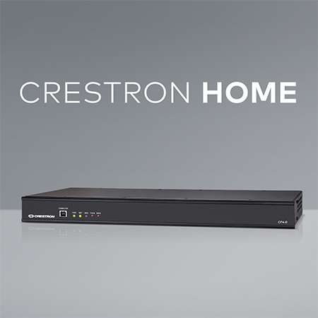 New Crestron CP4-R Control System Unleashes Full Potential of Crestron Home Operating System