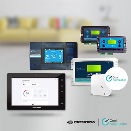 Crestron Partners with CoolAutomation to Deliver Native BACnet Integration with Crestron Home™ OS 3