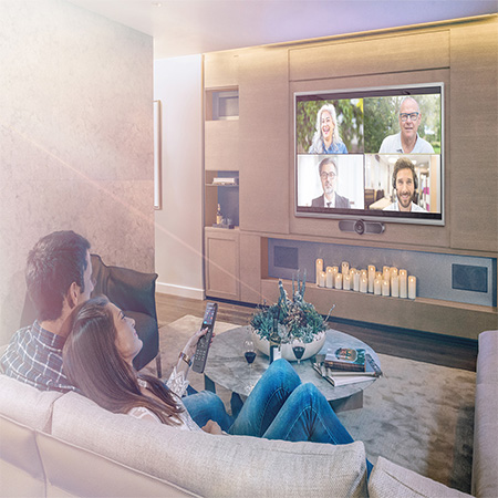 Crestron HomeTime is the First Fully Integrated Conferencing Solution Designed for the Smart Home