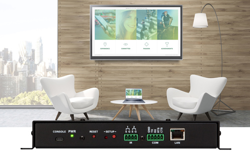 New Crestron AirMedia Presentation System Turns Open Enterprise Spaces Into Productive Meeting Spaces