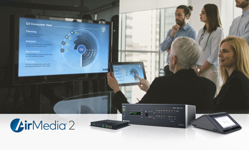 Crestron Debuts AirMedia® 2.0 Wireless Presentation Technology