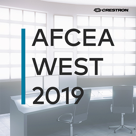 Crestron to Showcase JITC-Certified Solutions for Every Space on Base at WEST 2019