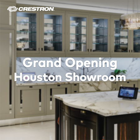 Crestron Opens New Design Showroom in Decorative Center Houston