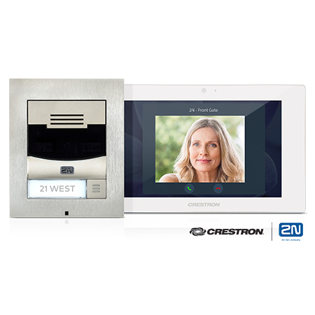 Crestron Partners with 2N to Enhance Security at  Entry Doors