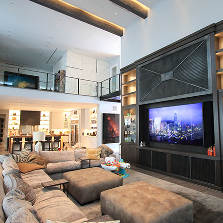 Spectacular Denver Smart Home Brings on the Fun
