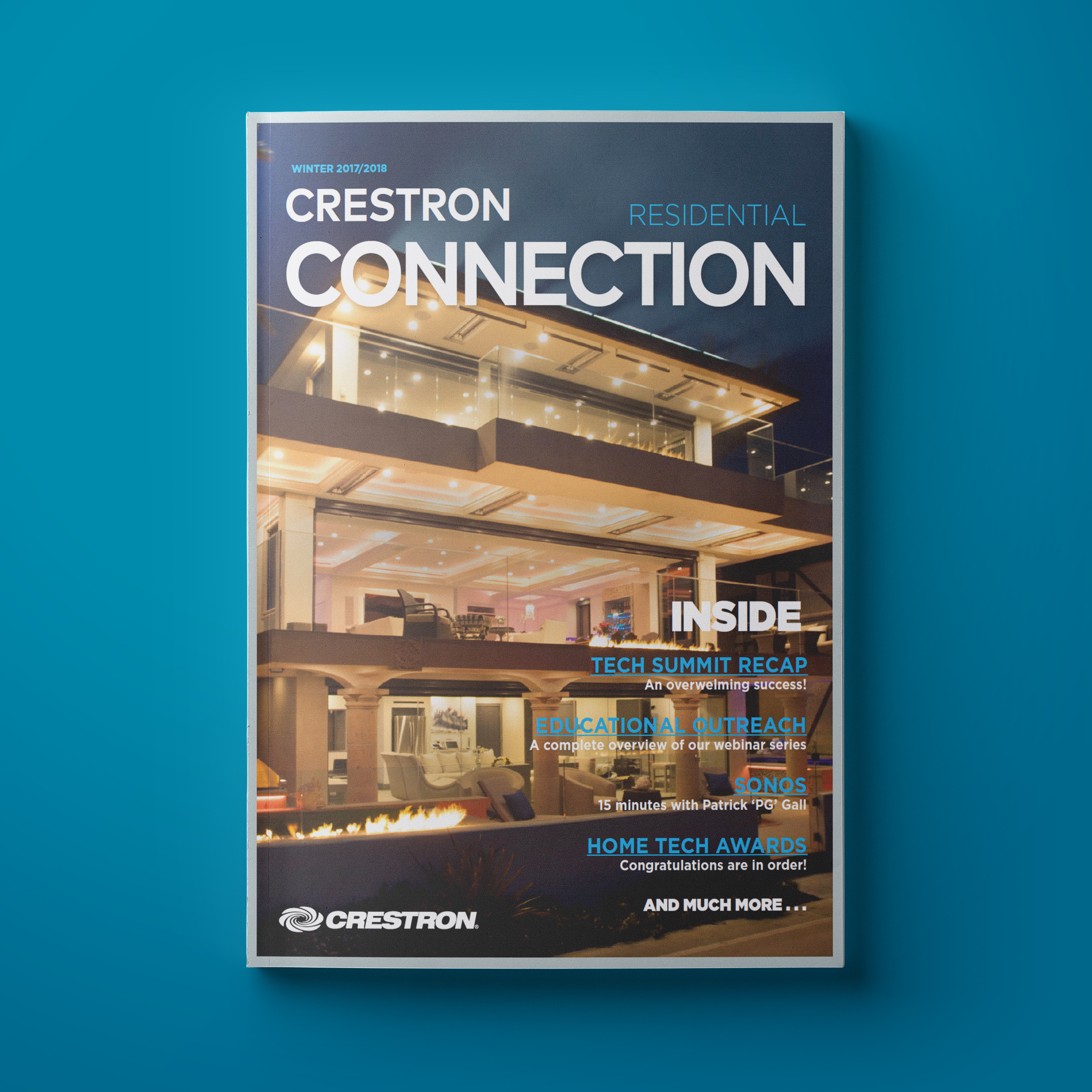 Crestron Launches New Magazine for Residential Technology Professionals