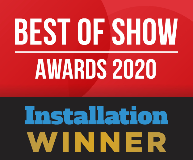 2020 Installation Best of Show at ISE