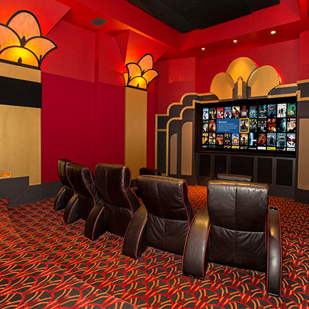 Art Deco Landmark Transformed Into Premier Home Theater Showroom