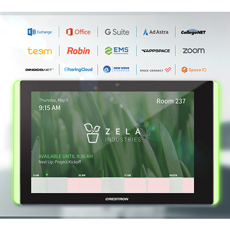 Crestron Expands Best-in-Class Room Scheduling Platform